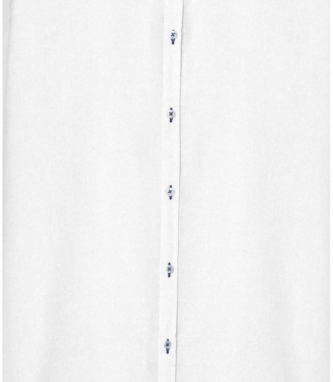 JONAS - Casual linen shirt, white