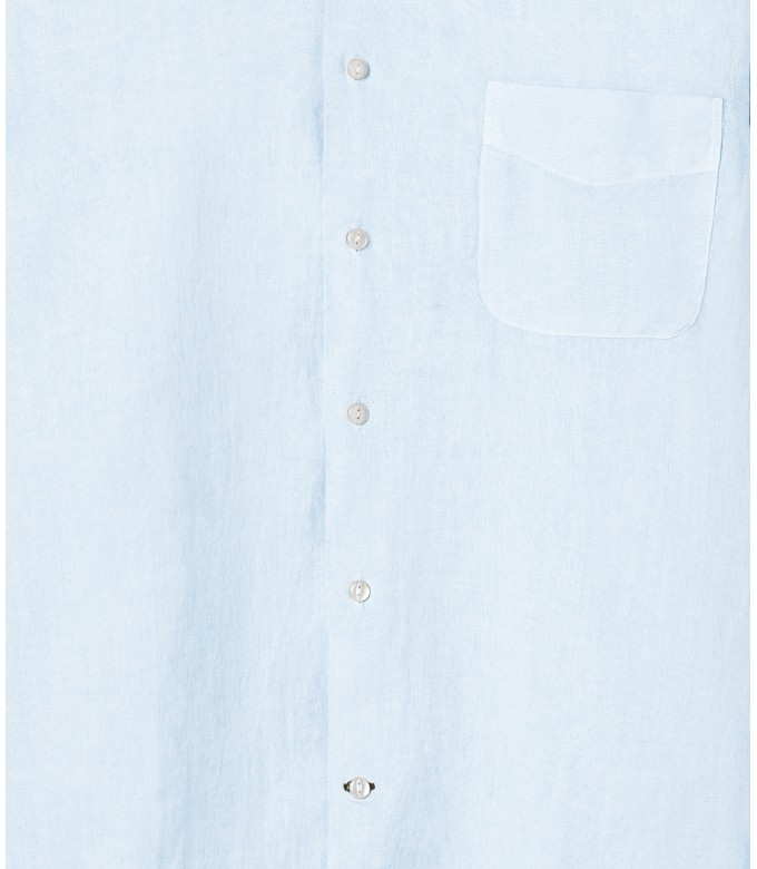 PLAIN LINEN SHIRT DIVA LIGHT BLUE