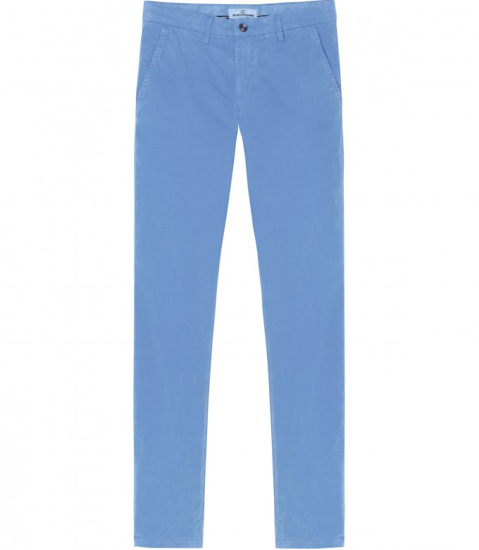 STRETCH-COTTON OCEAN CHINO PANTS FLASH