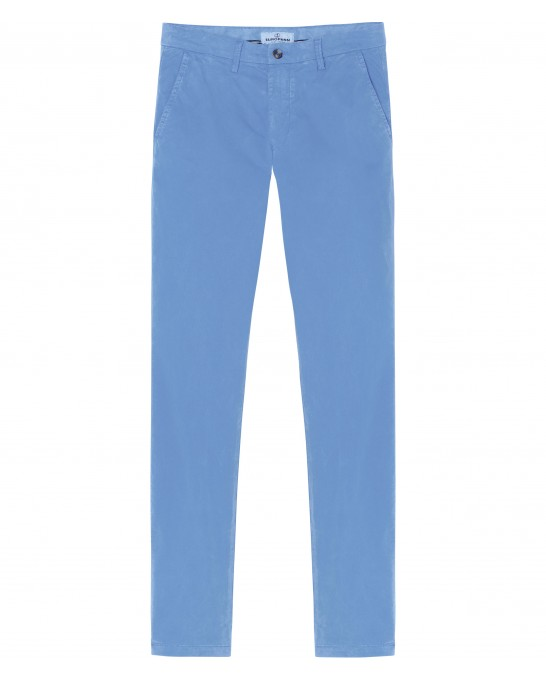 FLASH -  Ocean blue chino pants
