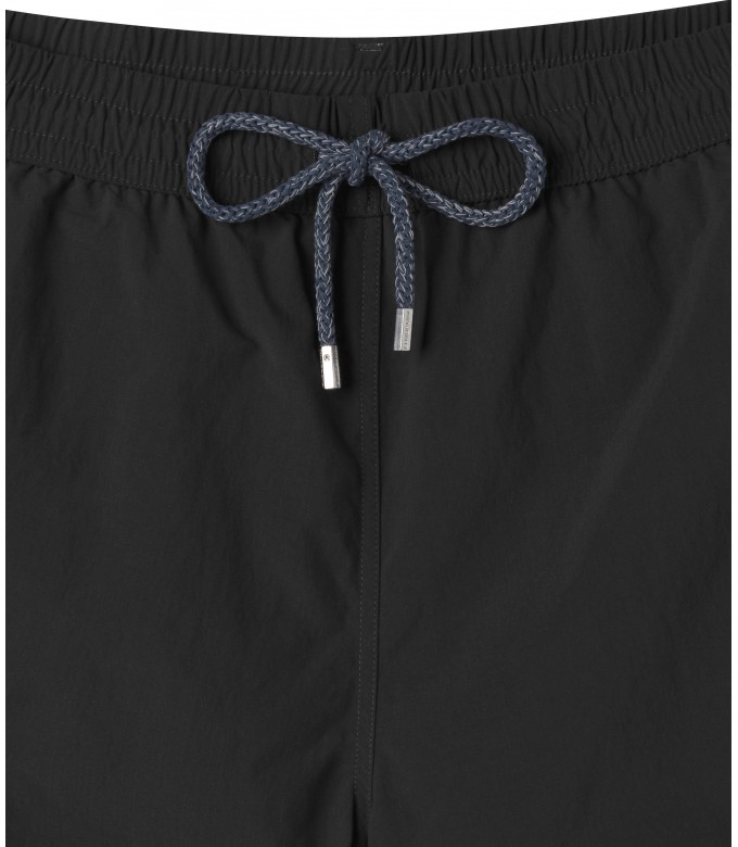 PLAIN BLACK SLIMFIT SWIMSHORT SOFT