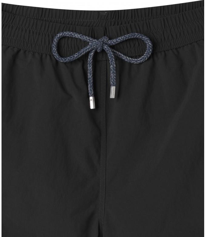 SOFT - Plain black swim shorts