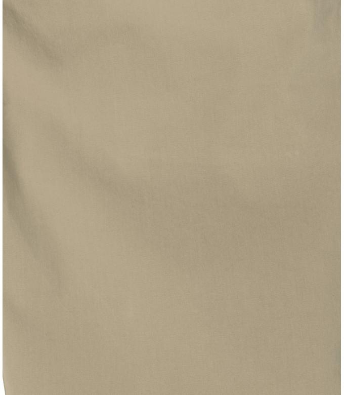 TEXAS - Beige cotton slim-fit bermuda