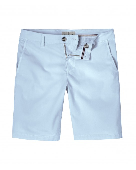 TEXAS - Slim fit  Chino Bermudas, light blue