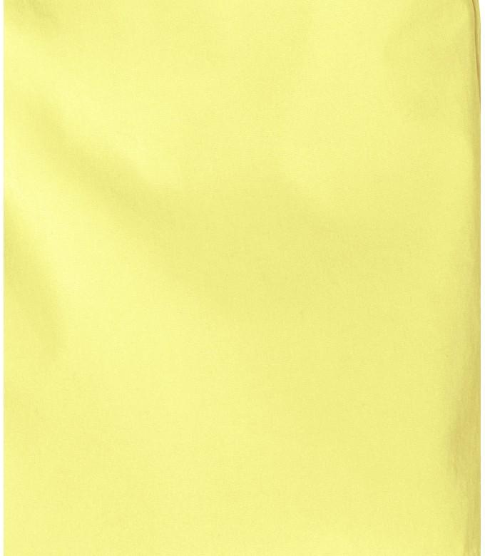 TEXAS - Bermuda chino slim uni, jaune
