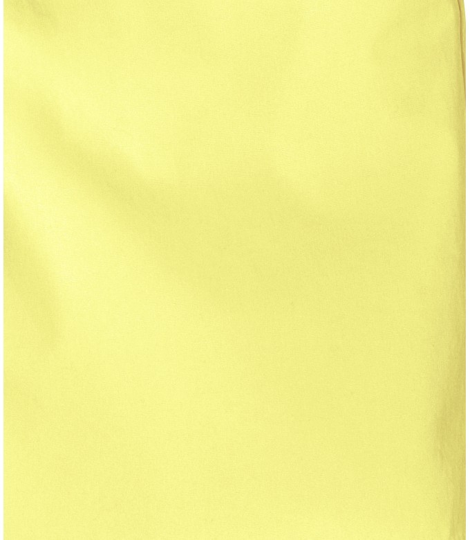 TEXAS - Slim fit  Chino Bermudas, yellow