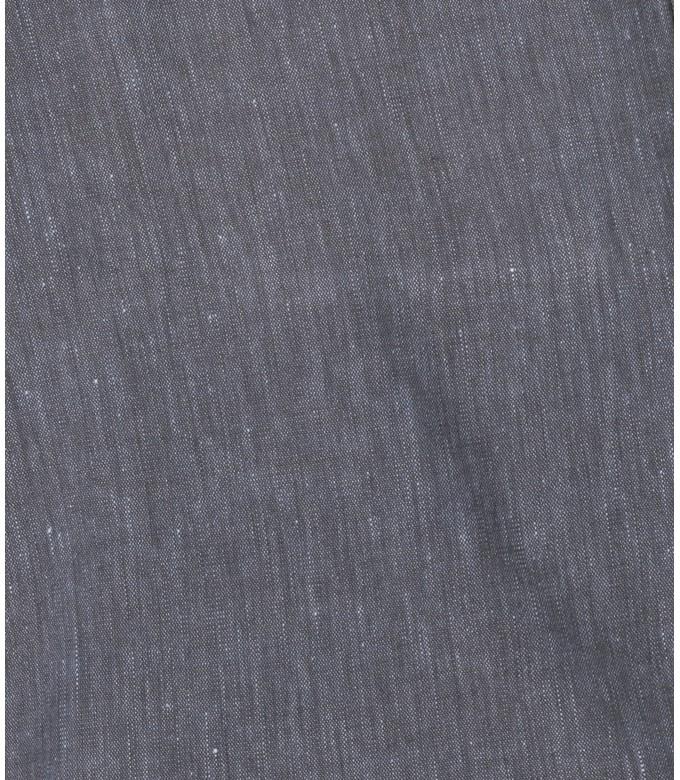 NAVY BLUE SLIM FIT LINEN-BLEND BERMUDAS TURNER