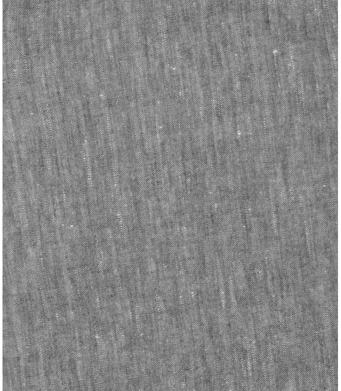 GORDON - Pantalon chino slim fit lin chiné, acier
