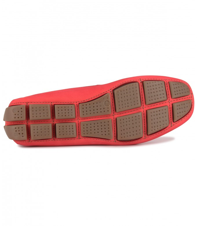 NUBUCK LOAFERS MONZA RED
