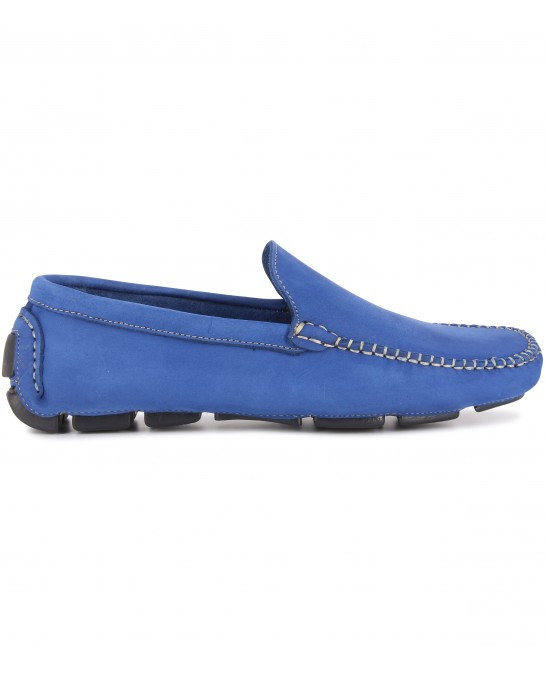 MONZA -  Nubuck loafers, royal blue