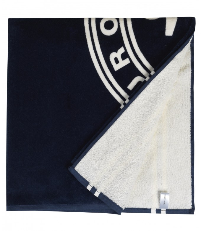 BATH TOWEL NAVY BLUE