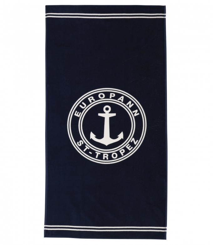 TOWEL - Bath towel, navy