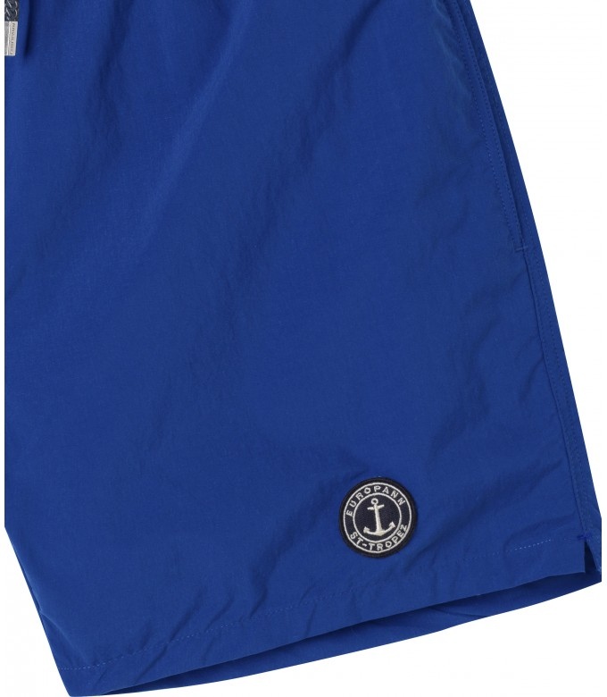 SOFT - Plain ink blue swim shorts