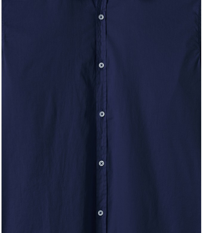 VARDY - Casual cotton voile shirt ink blue