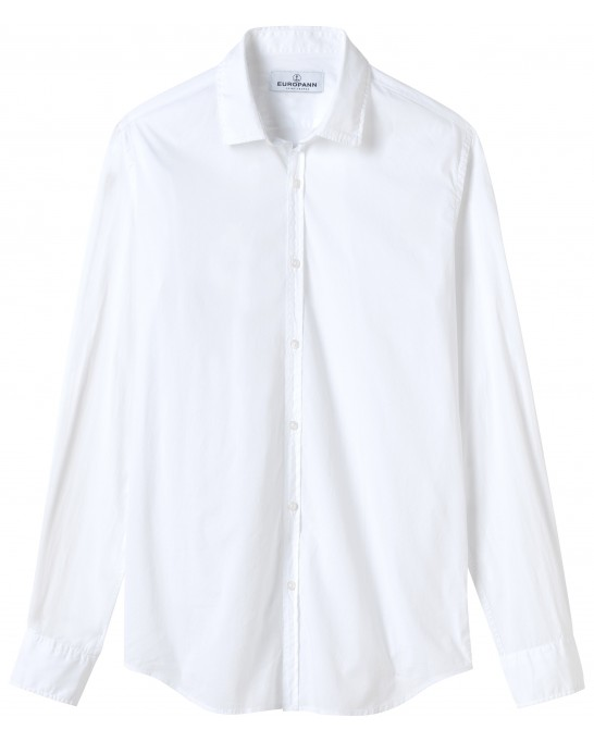 CASUAL WHITE  COTTON VOILE SHIRT VARDY