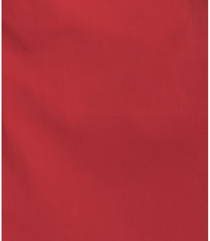 TEXAS - Red cotton slim-fit bermuda