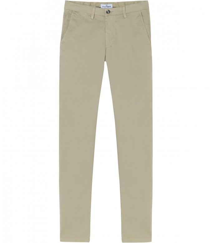 FLASH - Pantalon chino coupe ajustée, camel