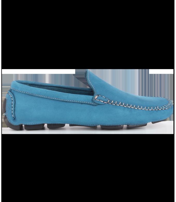 MONZA -  Nubuck loafers, blue