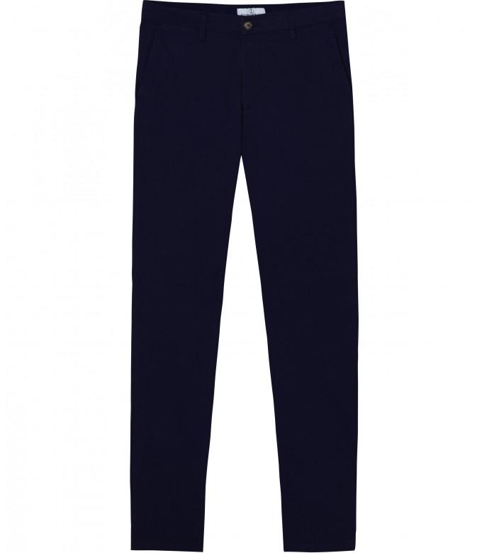 FLASH - Pantalon chino coupe ajustée, marine