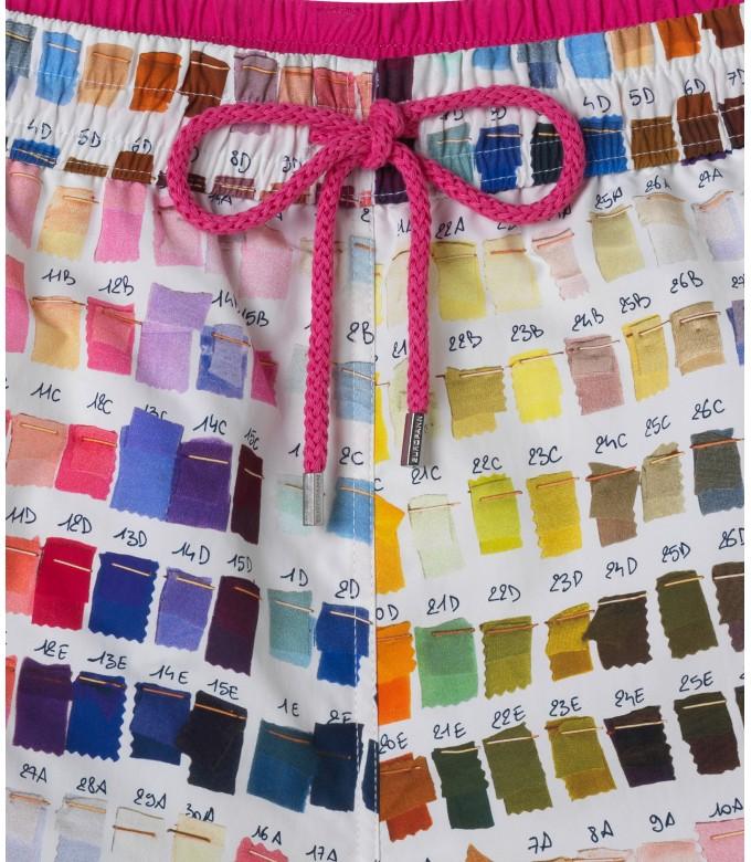 BORNEO JUNIOR - Pantone printed swim shorts, multi