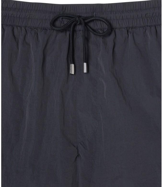 ABILIO - Steel grey plain swim shorts
