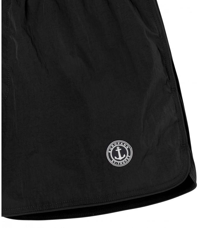 ABILIO - Black plain swim shorts