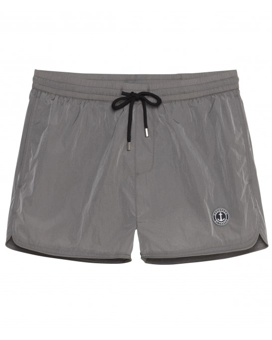 PLAIN GREY SWIMSHORT ABILIO
