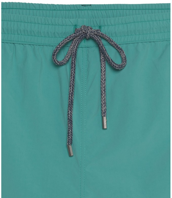 PLAIN SEA BLUE SLIMFIT SWIMSHORT SOFT