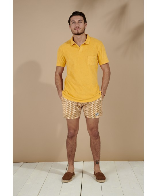 POLO EPONGE MITCH JAUNE