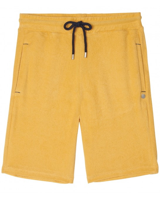 YELLOW SPONGE JOGGING SHORTS NOAH