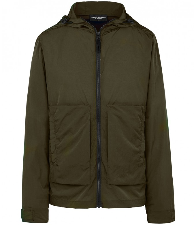 TUCSON - Anorak green jacket