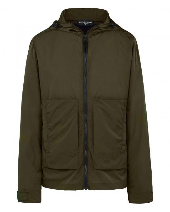 TUCSON - Anorak green jacket