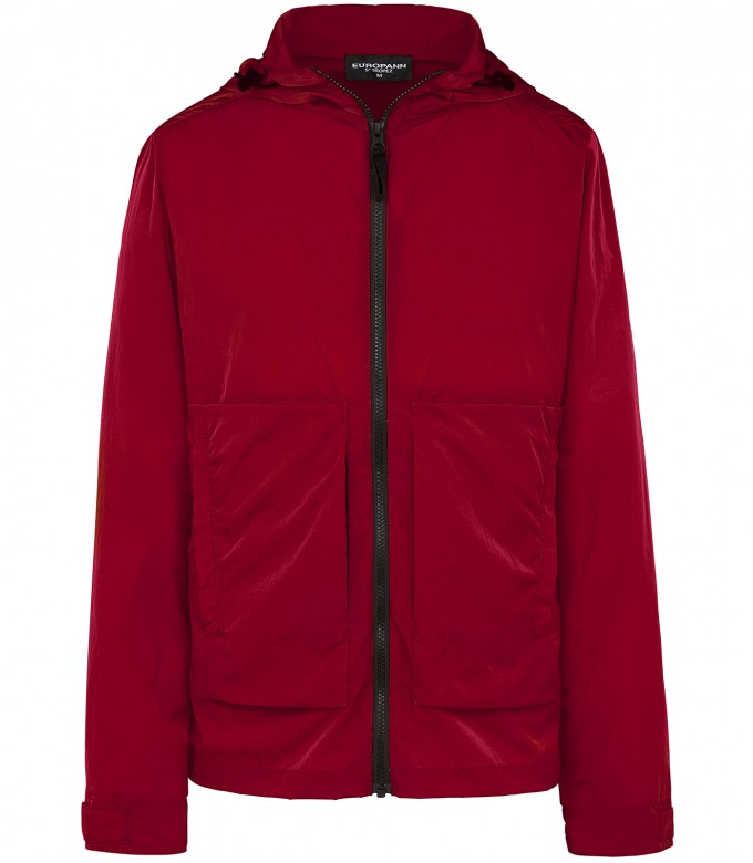 TUCSON - Anorak red jacket