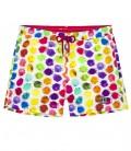 BALL - Color balls printed multicolored swim shorts