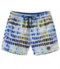 BORNEO - White pantone printed swimshort