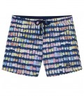 BORNEO - Navy blue pantone swim shorts