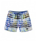 PANTONE PRINTED SWIM SHORTS BORNEO JUNIOR WHITE