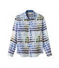 ROSS - Linen shirt ross pantone for kids