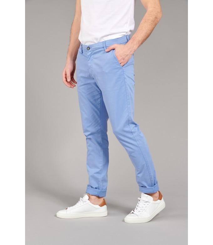 FLASH -  Ocean blue chino pants
