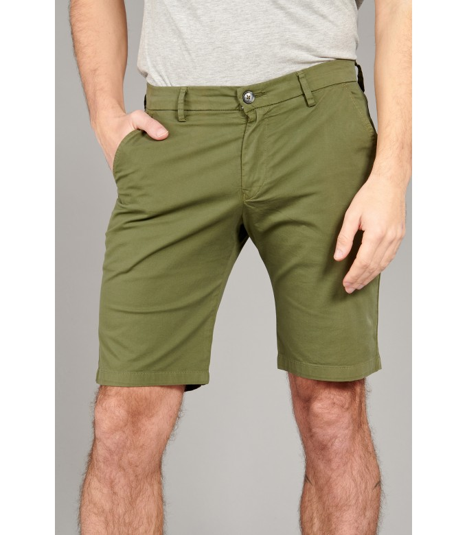 TEXAS - Slim fit  Chino Bermudas, khaki