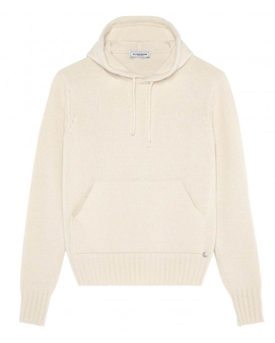 RON IVORY HOODED SWEATER